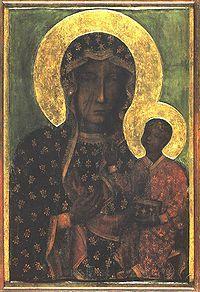 The Black Madonna of Częstochowa, Poland.