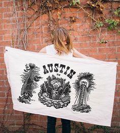 Denton Watts Austin Flag by The Wild Standard on Scoutmob Shoppe