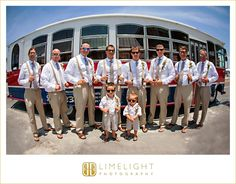 Beach Wedding, Groom and Groomsmen, suspenders, sunglasses, ring bearer, Gulf Drive Cafe, www.stepintothelimelight.com