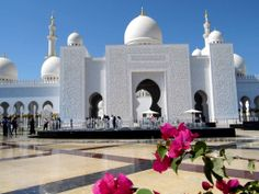 Abu Dhabi Mosque...