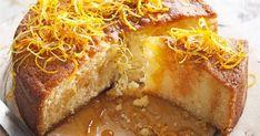 Νηστίσιμη και ζουμερή πορτοκαλόπιτα Greek Desserts, Greek Recipes, Vegan Desserts, Vegan Recipes, Low Calorie Cake, Pastry Cake, Vegan Cake, Sweets Recipes, How To Make Cake