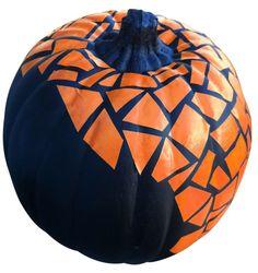 mosaic pumpkin desig