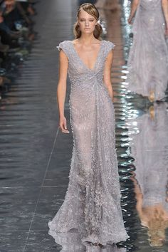 Elie Saab Fall 2010 Couture - love the bead work.