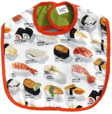 quirky lil sushi bib When I have children, sooooo happening