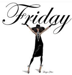 Friday!!! By Megan Hess