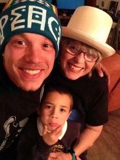 Chris Rene the family man!