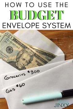 Learn how to use the Budget Envelope System to plan, track and control your budget and get your finances in order! Budgeting System, Budgeting Finances, Budgeting Tips, Envelope Budget System, Cash Envelope System, Budget Tracking, Budget Spreadsheet, Budget Forms, Total Money Makeover