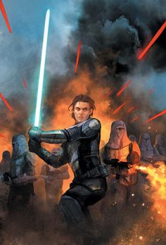 Star Wars: Knights of the Old Republic: War 2 cover art by Benjamin Carré