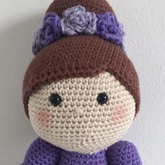 Crochet doll missing a new home.
