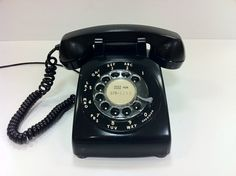 Old phone - I remember how excited everyone got when they came out with other colors besides black!