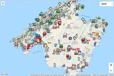Auf Der Seite Mallorca Karte Dienstleister Finden Sie Geschafte