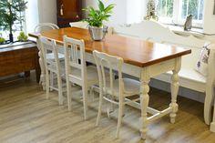 Lanhaustisch Esstisch Küchentisch von RomAntiqueLivingShop auf Etsy