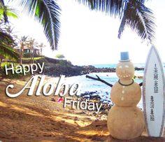 Happy ALOHA Friday.  www.serenityandmassage.com
