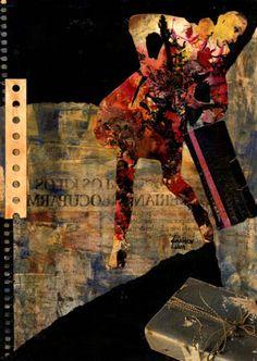 19-TESOROS del COLLAGE.  Pintura Mixta Collage.  Tamaño 30x21 cm.    http://www.artmajeur.com/es/artist/carmenluna/collection/tesoros-del-collage/1229405