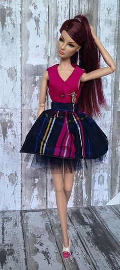 Fashion royalty Giselle Night Scape Nu Face doll