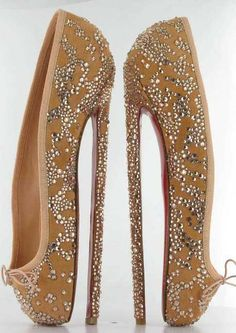 louboutin pointe heels, english ballet auction