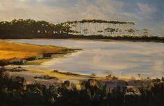 Western Lake    Gordie Hinds Contemporary Art  Seaside, Florida  www.facebook.com/gordiehindscontemporaryart