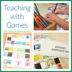 Teach Ancient History (& so much more) with Games, Timeline & a Thesaurus