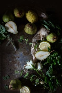Green Pear Lemon Juice | Hortus Natural Cooking