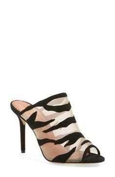 Charlotte Olympia 'Osa' Peep Toe Mule Sandal (Women) available at Peep Toe Mules, Mule Sandals, Mules Shoes, Shoes Sandals, Cheap Womens Shoes, Shoes Women, Fancy Shoes, Buy Shoes, Flat Shoes