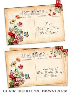 Free-vintage-altered-art-rose-postcards-2b-by-fptfy