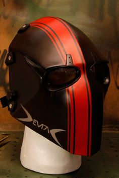 #maskv1 #paintwork #red #black