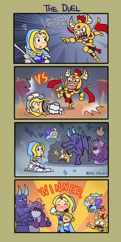 Dota The Duel By Phsueh And The Winner Is Crystal Maiden