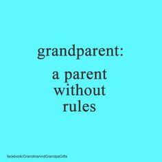 Grandparent - Parent without rules