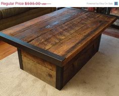 Furniture Sale. 15% Off. Custom Industrial by MtHoodWoodWorks