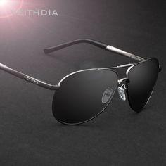 a4533aac387 VEITHDIA Men Polarized Sunglasses Classic Brand HD Lens Driving Sun Glasses  UV400 Mirror Male Eyewear Accessory