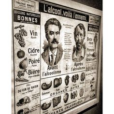 Regram from @aeuropeantraveler  Best and worst of Alcool consumption - overview from 19th and beginning of 20th century #leschampslibres #premiersdimanches #expositionboire #boire #igersrennes #rennes - See more at: http://iconosquare.com/viewer.php#/detail/1200125474043133774_349208902