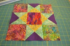first attempt at quilting..