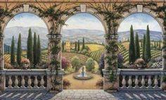 Tuscan Wallpaper Mural