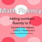 Common+Core+Aligned:+K.OA.5 This+file+includes+4+weeks+of+classwork+and+homework+for+each+addition+problems+from+0+to+5.+So+each+child+has+4+weeks+...