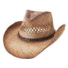 Wholesale Hats - Wholesale Outback Tea Stained Cowboy Straw Hats Tea  Stains 4c33692bd8c4
