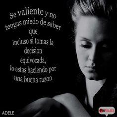 Frases dichas por Adele