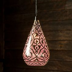 this is absolutely gorgeous!  filigree teardrop pendant