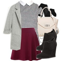 """""""Lydia Inspired Interview Outfit"""" by veterization on Polyvore"""