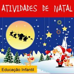 16 páginas com atividades de ed. infantil com o tema Natal. Saiba mais e veja a AMOSTRA no http://www.janainaspolidorio.com/atividades-de-natal-educacao-infantil.html
