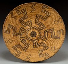 Apache Coiled Bowl, c. 1900