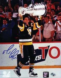 Click Image Above To Buy: Mario Lemieux Pittsburgh Penguins Autographed Photograph Pens Hockey, Ice Hockey Teams, Mike Bossy, Mario Lemieux, Hockey Pictures, Nhl Pittsburgh Penguins, Lets Go Pens, Nhl Games