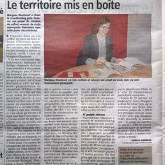 Article dans la Gazette cette semaine !  #UP2016 #AuvergneNMonde #illustration #contesetlegendes #territoire #Ulule #choisirlartisanat #initiativelocale #myauvergne #livradoisforez