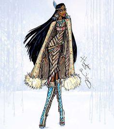"""O inverno nem começou e aqui em São Paulo parece que a Elsa já chegou! Vocês tão congelando também?Inspirada nesse momento de """"tirar os casacos do fundo do armário"""", vim mostrar a série das Princesas Disney com roupas de inverno do ilustrador Hayden Williams. Eu já mostrei alguns desenhos desse artista talentosíssimo (aqui, aqui, aquie aqui) e sei que ele ainda vai dar as caras outras vezes porque é tudo..."""