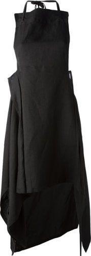 Yohji Yamamoto - apron style skirt