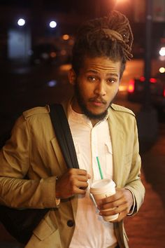 There's something super sexy about a man with well kept dreadlocks.