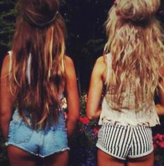 pretty hair @chloe lauren cleveland me and you. or you and madi@Madeline Brown