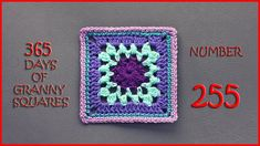 365 Days of Granny Squares Number 255