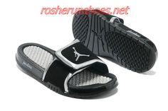 4e5110fdcc0c Cheap Nike Jordan Hydro 2 Slide Sandal Black Silver White For Sale