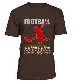 Football Ugly Christmas Sweater Shirt - Best Gift Christmas  Funny Football T-shirt, Best Football T-shirt