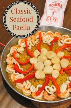 Classic Seafood Paella: Easy step-by-step guide to perfect paella at home! - Savory Experiments